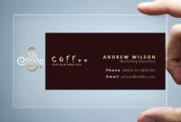 26+ Transparent Business Card Templates – Illustrator, Ms with regard to Call Card Templates