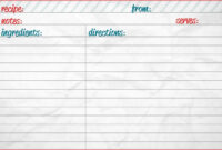 28+ [ 5X7 Index Card Template ] | 5X7 Index Card Template regarding 3X5 Blank Index Card Template