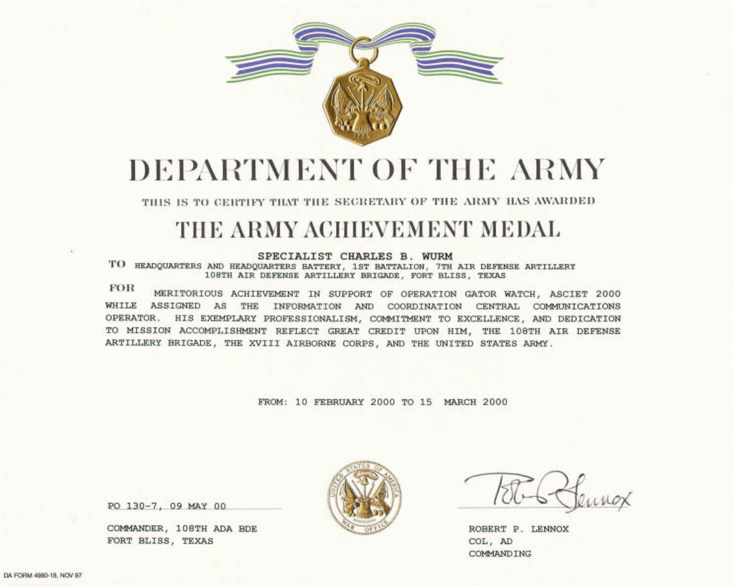 28+ [ Army Good Conduct Medal Certificate Template ] | Army Throughout Army Good Conduct Medal Certificate Template