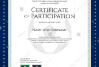 28+ Certificate Of Participation Designs & Templates – Psd for Choir Certificate Template
