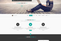 28 Free One-Page Psd Web Templates In 2019 – Colorlib with regard to Business Website Templates Psd Free Download