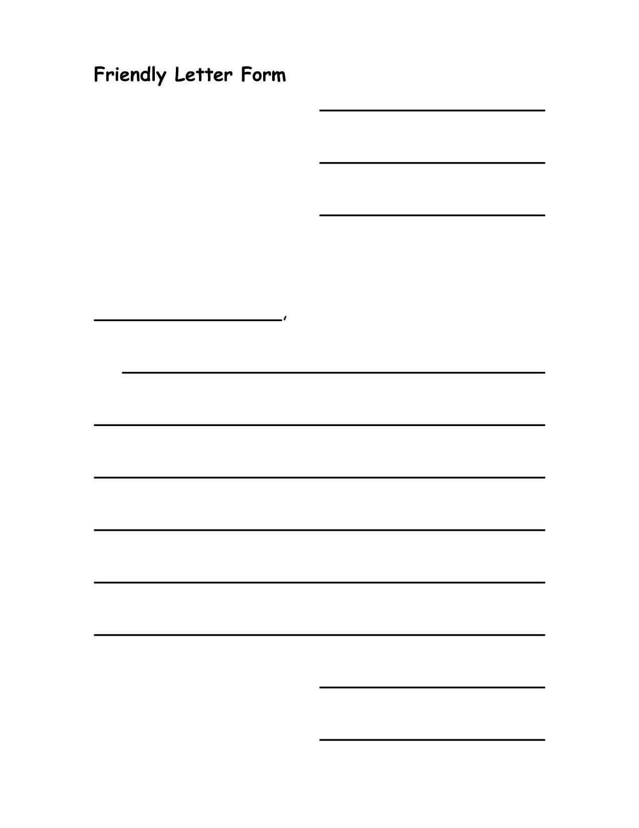 28+ [ Letter Template Ks2 ] | Blank Letter Template For Blank Letter Writing Template For Kids