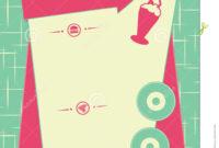 29 Images Of 50 S Diner Signs Template | Vanscapital intended for 50S Diner Menu Template