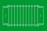 29 Images Of Paper Football Field Template   Vanscapital pertaining to Blank Football Field Template
