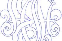 3 Letter Monogram Template ] – Letter Monogram Designs for 3 Letter Monogram Template