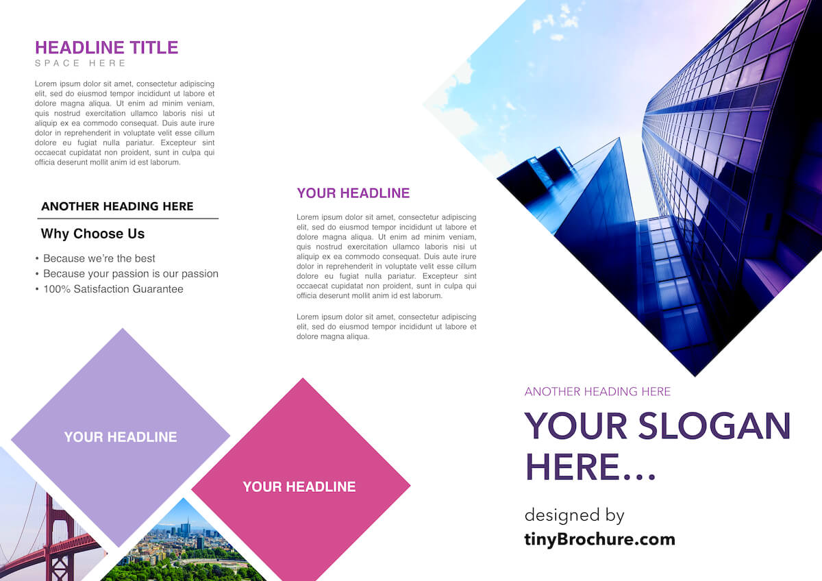 3 Panel Brochure Template Google Docs Within Brochure Template Google Drive
