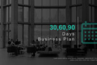 30 60 90 Day Business Plan Template For Powerpoint & Keynote with regard to 90 Day Business Plan Template