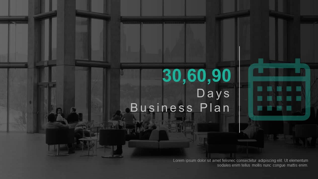 30 60 90 Day Business Plan Template For Powerpoint & Keynote Within 30 60 90 Business Plan Template Ppt