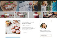 30+ Best Food WordPress Themes For Sharing Recipes 2020 within Blank Food Web Template