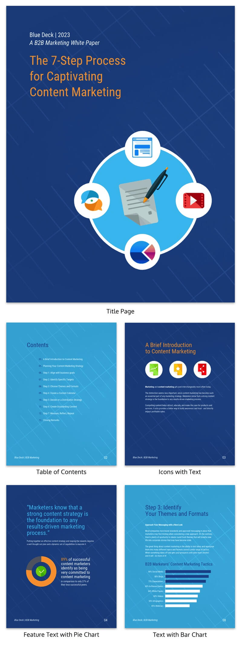 30+ Business Report Templates Every Business Needs - Venngage In Business Review Report Template