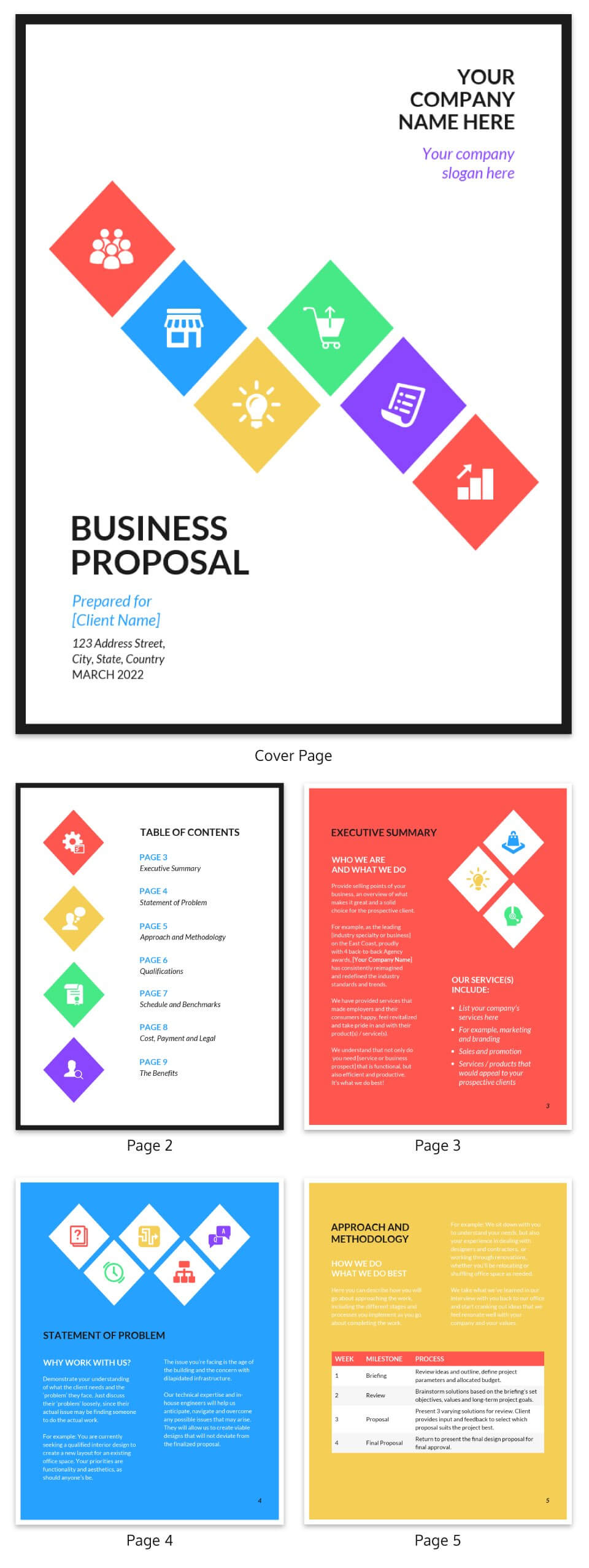 30+ Business Report Templates Every Business Needs – Venngage Within Business Process Narrative Template