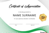 30 Free Certificate Of Appreciation Templates And Letters intended for Certificate Of Participation Template Ppt
