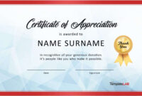 30 Free Certificate Of Appreciation Templates And Letters pertaining to Best Employee Award Certificate Templates