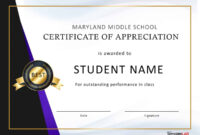30 Free Certificate Of Appreciation Templates And Letters within Certificate Of Participation In Workshop Template