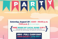30 Images Of Epic Block Party Flyer Template Word pertaining to Block Party Template Flyers Free