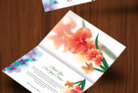 30+ Personalized Thank You Cards – Free Printable Psd, Eps with regard to Card Folding Templates Free