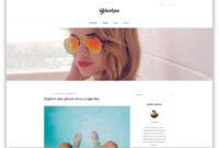 30 Popular Free WordPress Blog Themes 2019 – Colorlib inside Blank Food Web Template