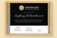 300 Best Certificate Templates 2020 throughout Best Teacher Certificate Templates Free