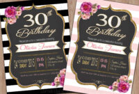 30Th Birthday Invitations : 30Th-Birthday-Invitations-Free in 30Th Birthday Party Invitation Template