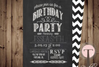30Th Birthday Party Invitation Templates Free ] – 30Th with 30Th Birthday Party Invitation Template