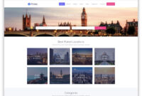 32 Top Responsive Directory Website Templates 2019 – Colorlib for Business Listing Website Template