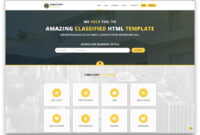32 Top Responsive Directory Website Templates 2019 – Colorlib regarding Business Directory Template Free