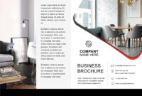 33 Free Brochure Templates (Word + Pdf) ᐅ Template Lab within 4 Fold Brochure Template Word