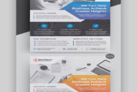 35+ Business Flyer Templates (Creative Layout Designs intended for 1 Page Flyer Template