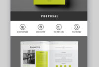 35 Professional Business Project Proposal Templates For 2020 with Business Proposal Indesign Template