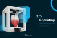 3D Bioprinting Modern Ppt Templates inside 3D Printer Templates