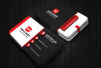 3D Business Card Template with regard to Buisness Card Template