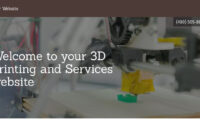 3D Printing And Services Website Templates   Godaddy inside 3D Printing Templates