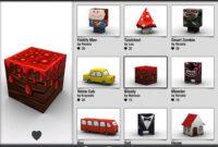 3D Printing With Foldify   Webdesigner Depot throughout 3D Printing Templates