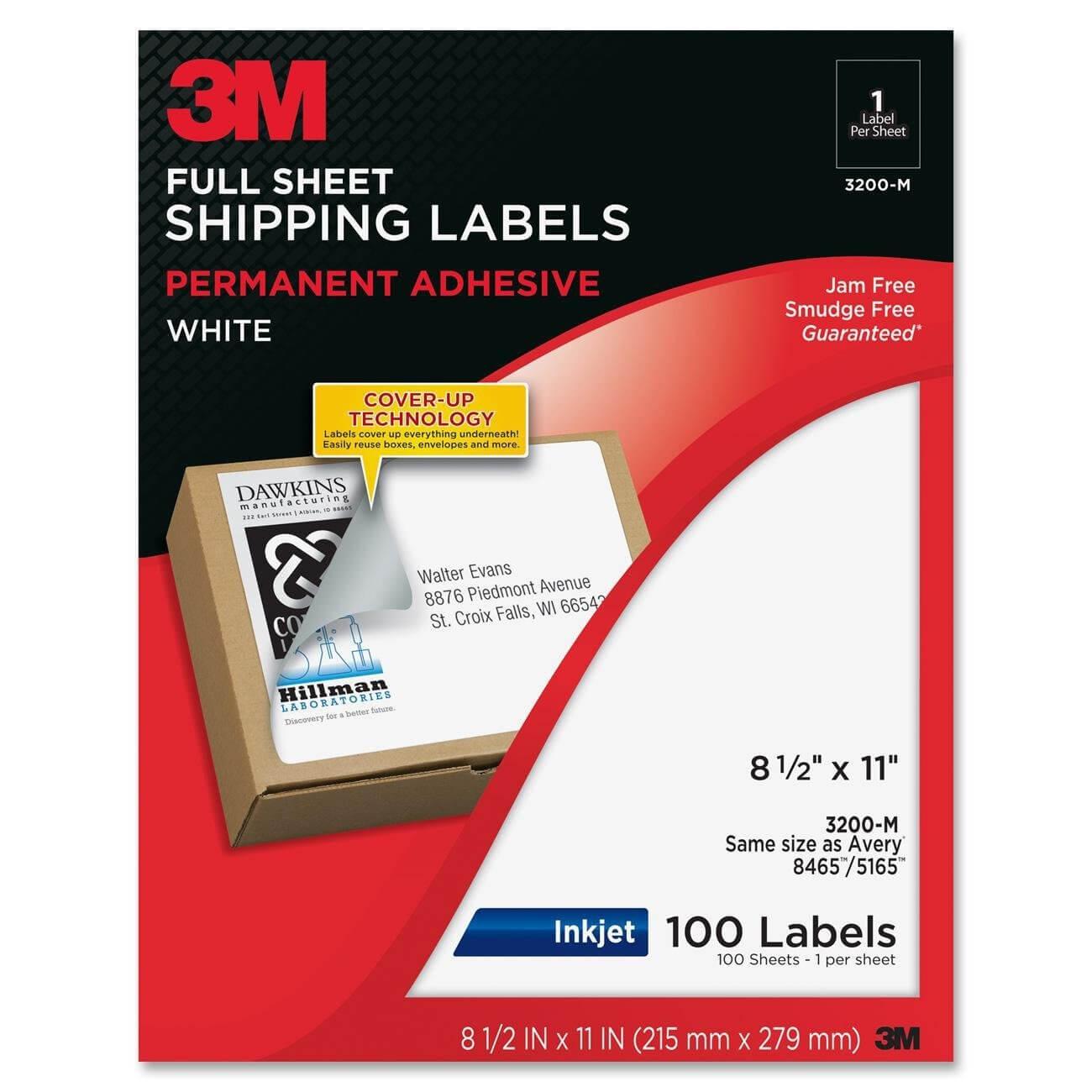 3M Labelers - Tunu.redmini.co With Regard To 3M Label Template