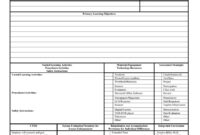 44 Free Lesson Plan Templates [Common Core, Preschool, Weekly] within Blank Preschool Lesson Plan Template