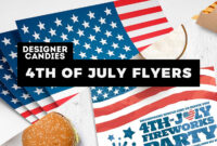 4Th Of July Flyer Templates: 20+ Best Psd & Vector Templates for 4Th Of July Menu Template