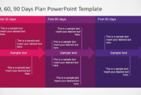 5+ Best 90 Day Plan Templates For Powerpoint intended for 30 60 90 Day Plan Template Word