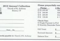 5 Best Photos Of Church Building Fund Pledge Form – Church with regard to Building Fund Pledge Card Template