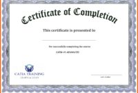 5+ Free Academic Certificate Templates | Ml-Datos with Certificate Of Completion Template Free Printable