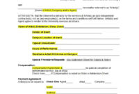 50 Artist Management Contract Templates (Ms Word) ᐅ intended for Business Management Contract Template