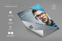 50+ Business / Corporate Flyer Psd Templates With Attractive regarding Adobe Illustrator Flyer Template