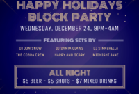 50+ Captivating Flyer Examples, Templates And Design Tips for Block Party Flyer Template Free