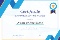 50 Free Creative Blank Certificate Templates In Psd in Best Employee Award Certificate Templates