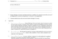 50+ Free Independent Contractor Agreement Forms & Templates within Assignment Of Benefits Form Template