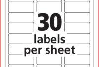 5160 Label Template Word – Tunu.redmini.co in 3 Labels Per Sheet Template