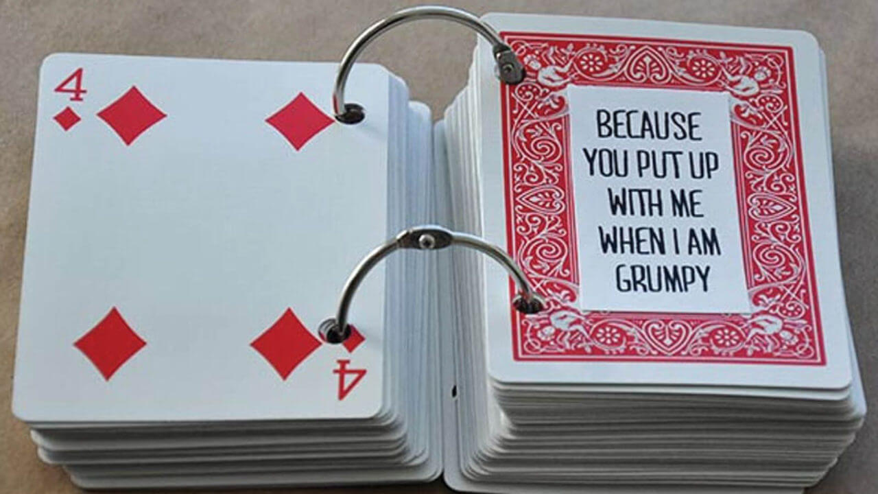52 Things I Love About You Cards - Health Journal In 52 Things I Love About You Deck Of Cards Template