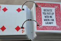 52 Things I Love About You Cards – Health Journal with regard to 52 Things I Love About You Cards Template