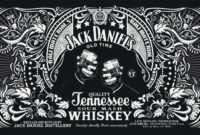 577E282 Jack Daniels Label Template | Wiring Library for Blank Jack Daniels Label Template