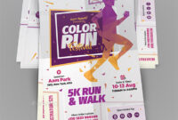 5K-Run Graphics, Designs & Templates From Graphicriver within 5K Flyer Template
