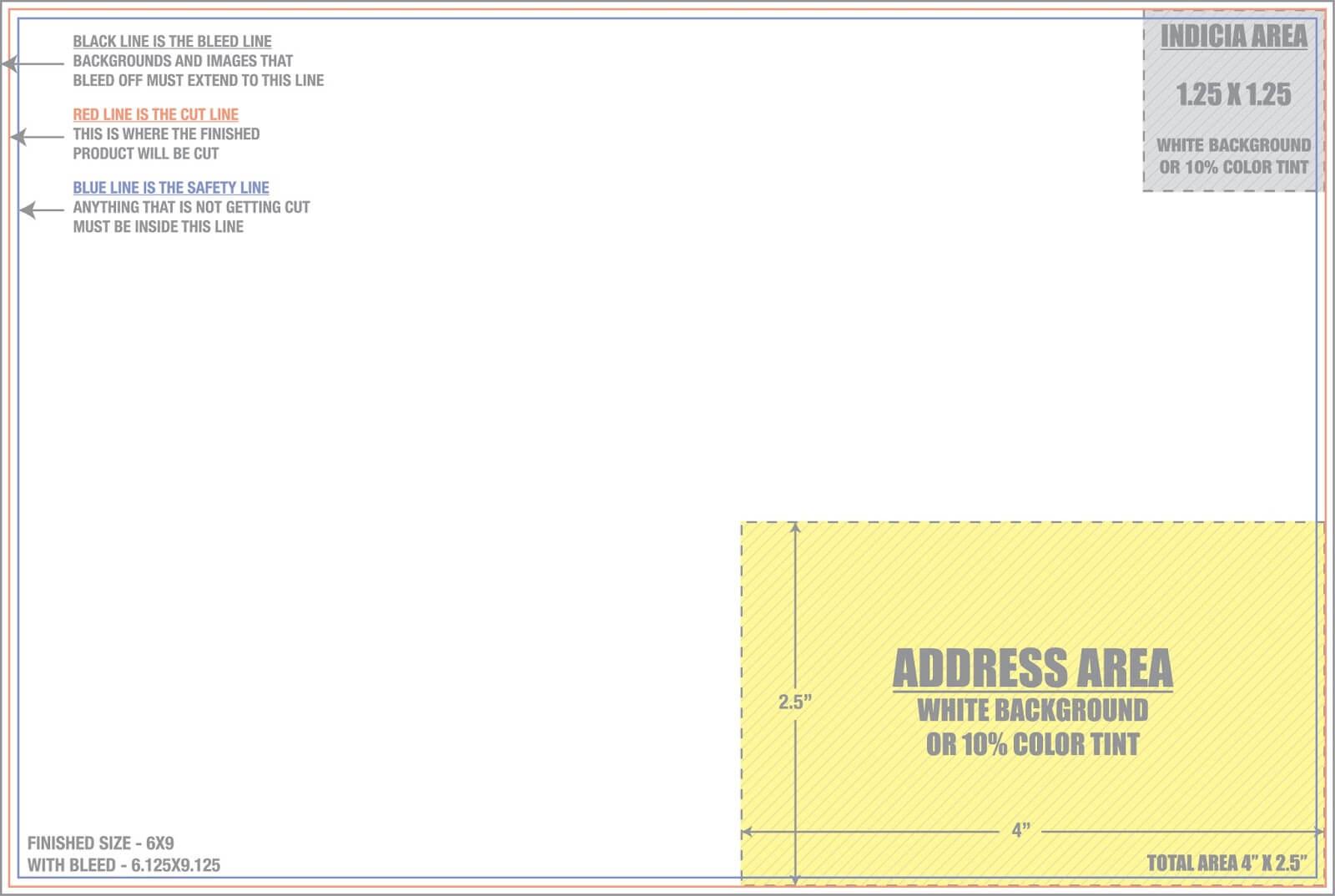 6 X 9 Postcard Template - Tunu.redmini.co Regarding 6X9 Postcard Template